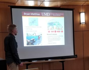 Bryan Matthias, Postdoc, UMD Biology
